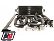 Process West Black Front Mount Intercooler Kit - GRB 2008 - 2014 STI